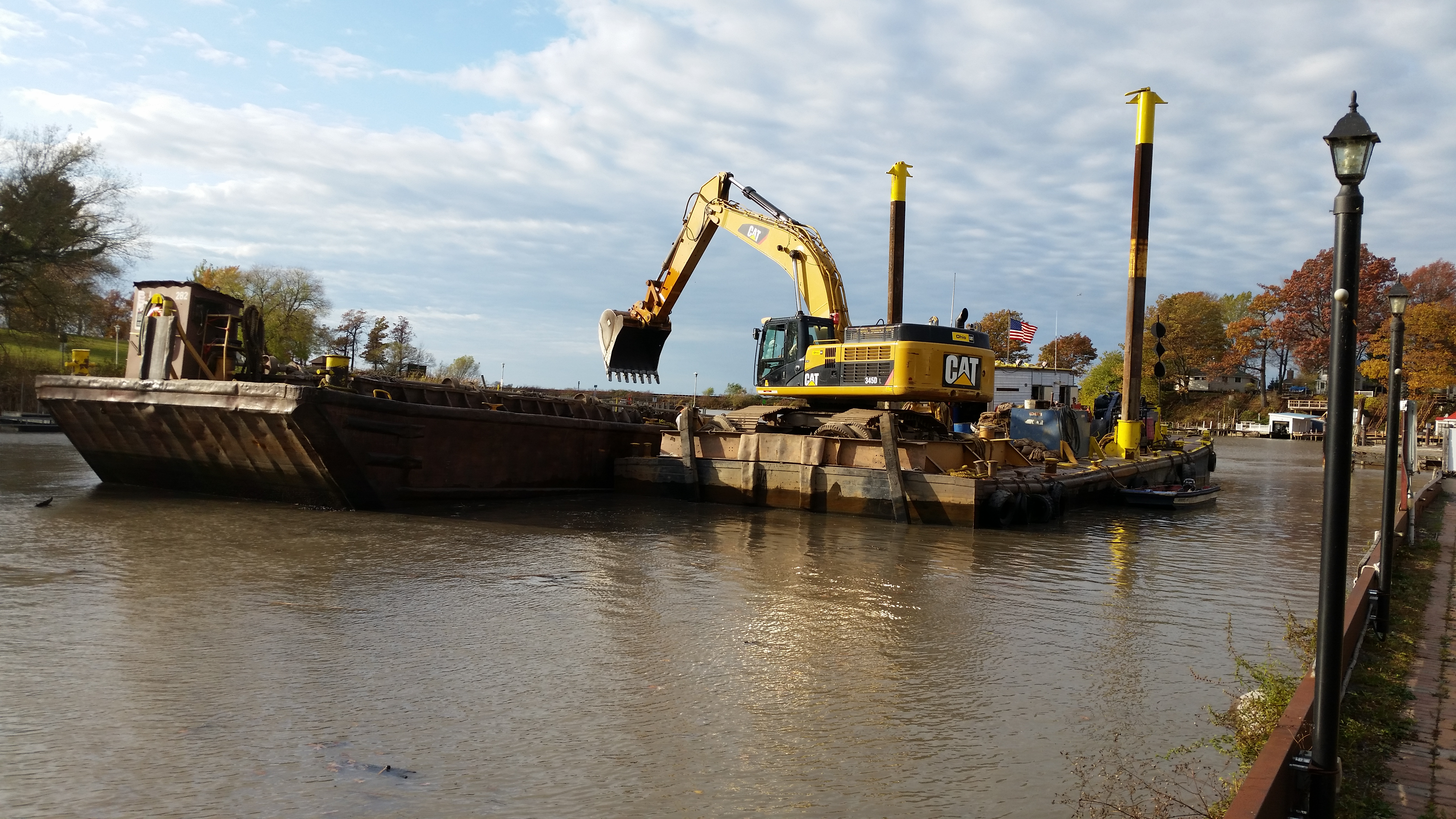 Dredging the Harbor - Bootleggers Cove Renovation Project
